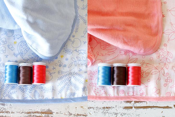 ブランケット刺繍色