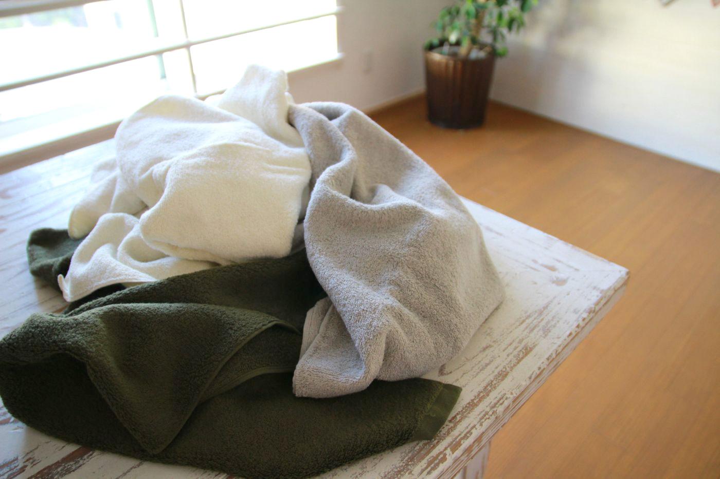 高品質な素材で丁寧に作られたタオル